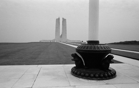 Canadian National Vimy Memorial, France - 1991