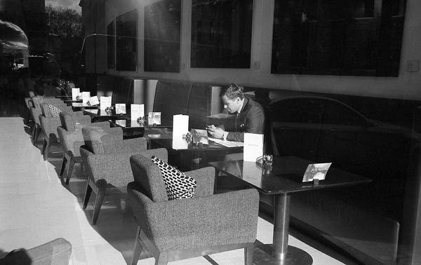 @Venue Restaurant, Southhampton Row, London, England - 2013