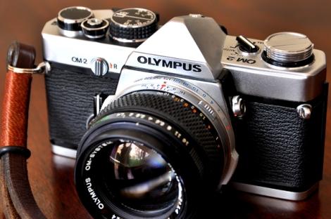 The Olympus OM 2. Genius.