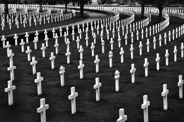 Cambridge American Cemetery & Memorial, Coton, Cambridgeshire, England - 2013
