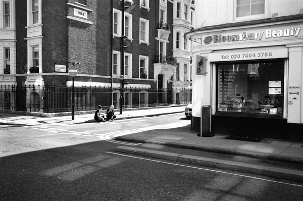 Little Russel Street, Bloomsbury, London, England - 2013