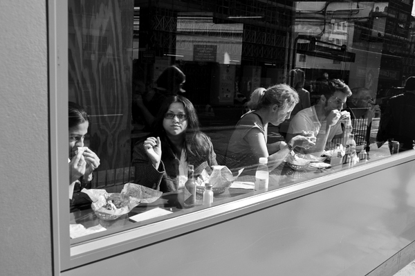 Chipotle, Charing Cross Road, London, England - 2012