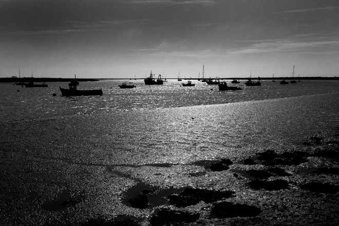 River Alde, Orford, Suffolk, England - 2013