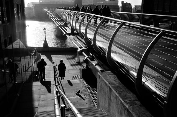 Millennium Bridge, London, England - 2013
