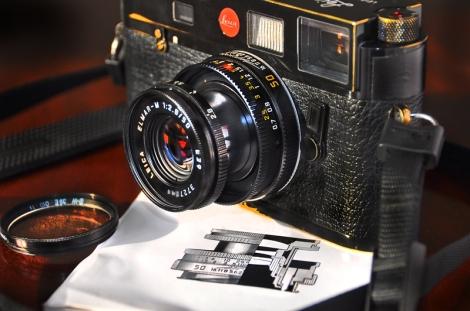 Elmar-M 50mm f2.8 - a little cracker.