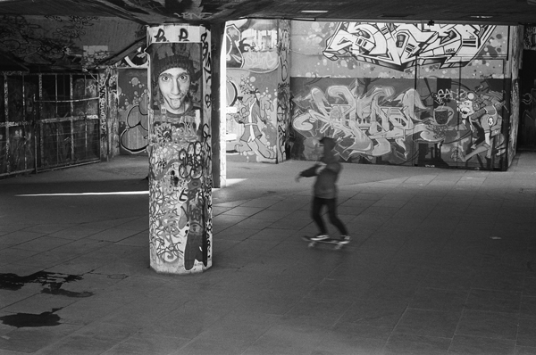 The Undercroft, South Bank, London, England - 2014