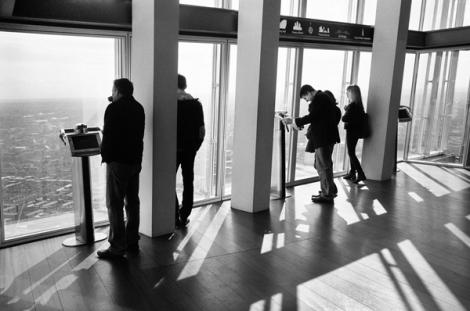 Viewing gallery, floor 68.