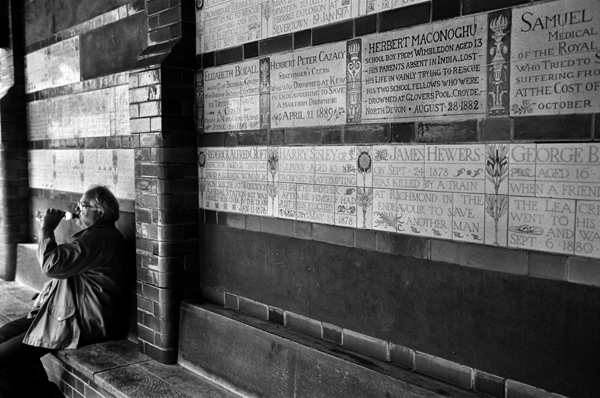 Postman's Park, London, England -2014