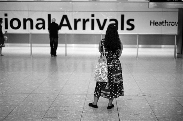 Terminal 5, Heathrow Airport, London, England - 2015