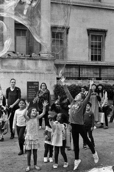 National Gallery Piazza, Trafalgar Square, London, England – 2015