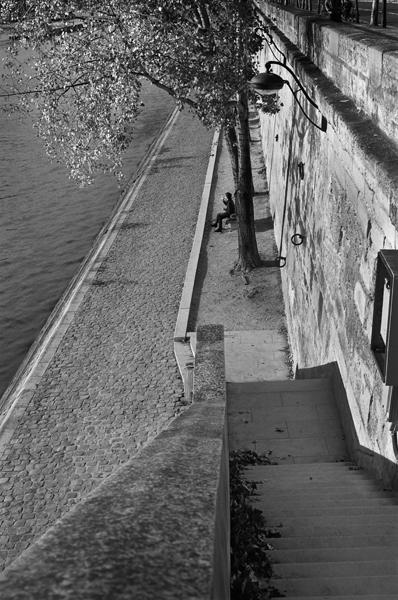 Seine (rive droite), Paris, France - 2015