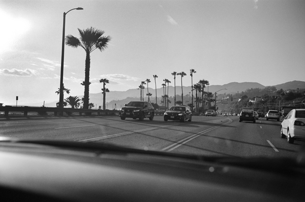 Interstate 101, Santa Monica, California, USA - 2016