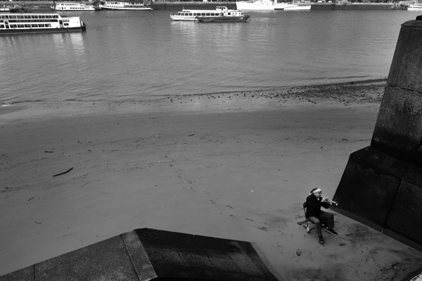 South Bank, River Thames, London, England - 2016