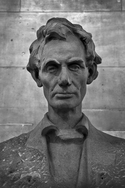 Abraham Lincoln (Andrew O'Connor, 1930), Royal Exchange, London, England - 2017