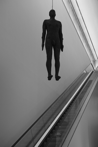 Object (Antony Gormley, 1999) National Portrait Gallery, London, England - 2017
